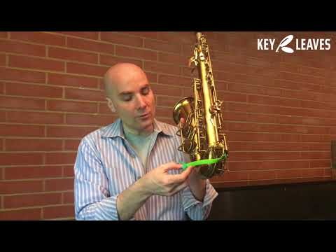 How To Fix Sticky Sax Key Pads On Your CONN 6M Alto Sax With Key Leaves