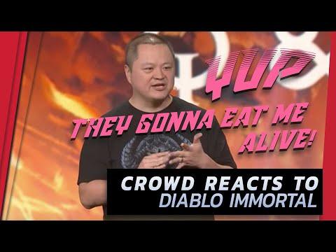 Diablo Immortal  🔥 Crowd Reaction  | BlizzCON 2018