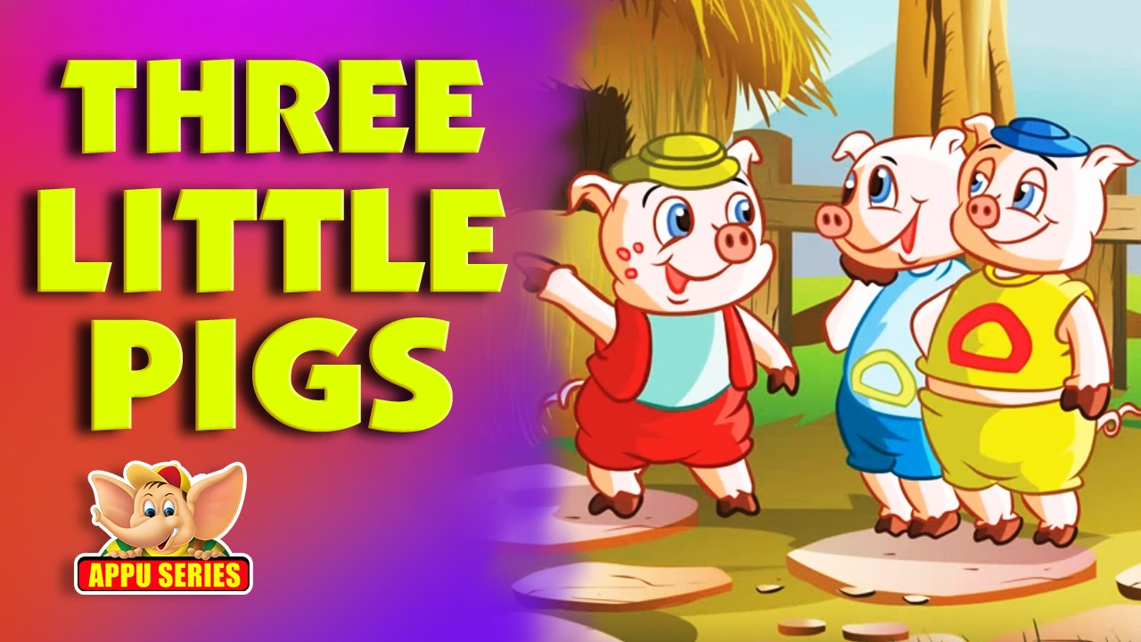 Lets read an Appu Series book  The Three Little Pigs  YouTube