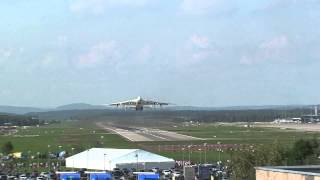 Antonov An-225 Mriya - Антонов Ан-225 Мрія, take off from Zürich Airport