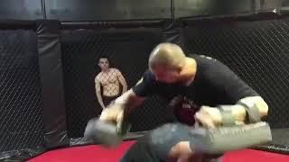 Coach Nelson teaching Kickboxing