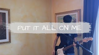Ed Sheeran ft. Ella Mai - Put It All On Me [loop cover - Federico Madeddu]
