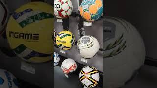 Обзор мячей для футбола