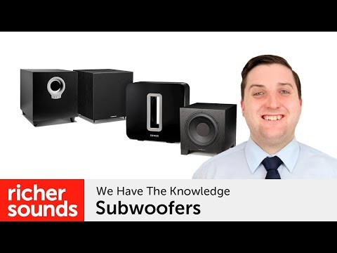 A Guide To Subwoofers | Richer Sounds