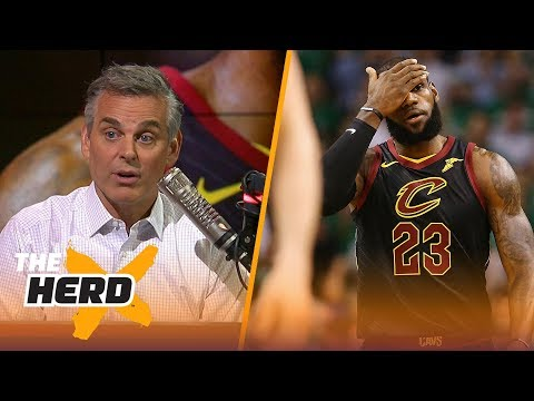 Chris Broussard on LeBron's Game 5 vs Boston, Durant dealing with playoff pressure | NBA | THE HERD