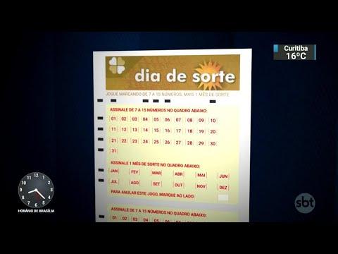 Caixa Econômica Federal lança nova loteria: Dia da Sorte | SBT Brasil (14/05/18)