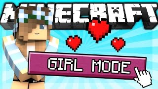 if a girl mode was added to minecraft