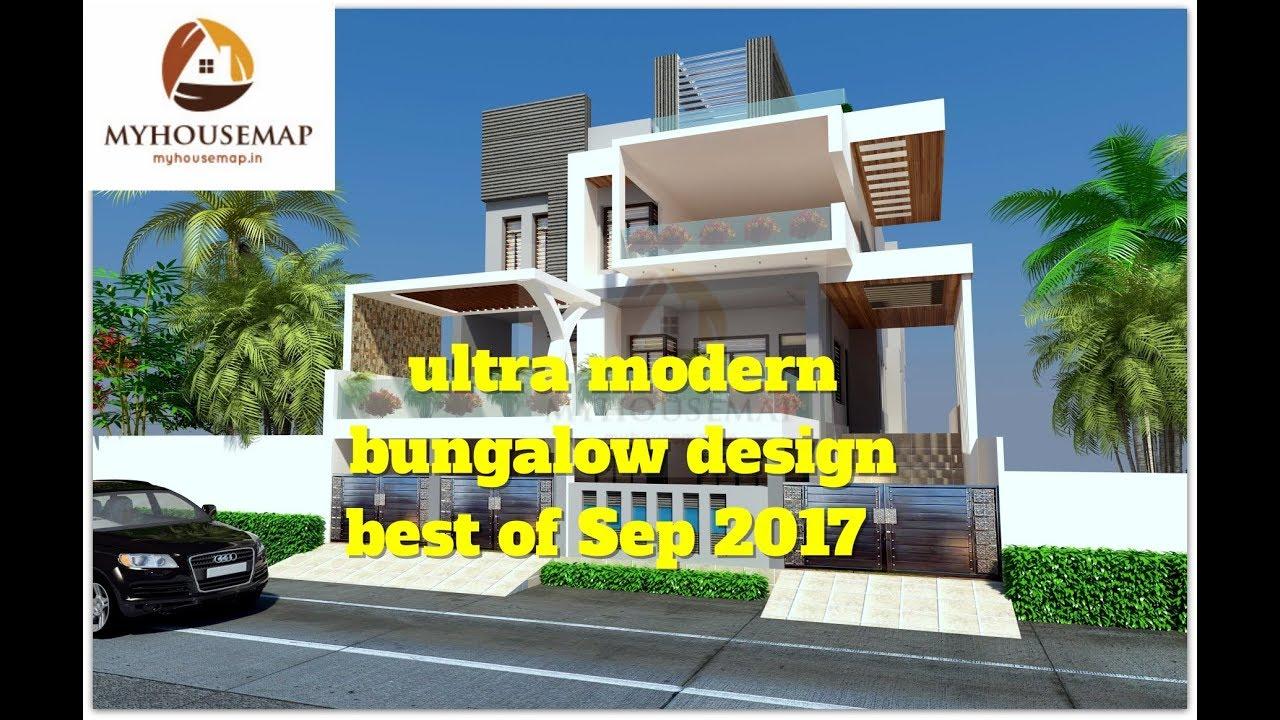 Ultra Modern Bungalow Design Best Of Sep 2017 House