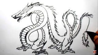 Video cara menggambar ular naga (how to draw dragon snake) download MP3, 3GP, MP4, WEBM, AVI, FLV Agustus 2018