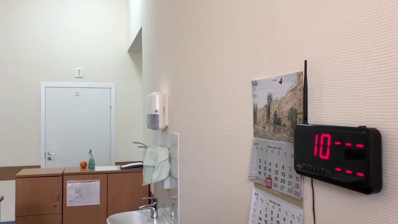 Светодиодная лампа в системе палатной сигнализации SOLT