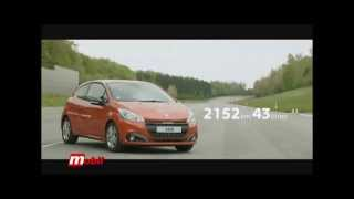 Mobil Auto TV - Peugeot 208 rekorder u stedljivoj voznji