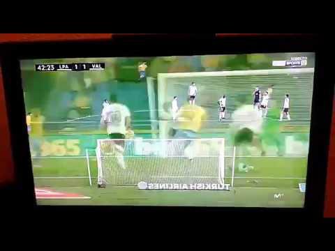 Gol Jonathan Viera Las Palmas 1-1 Valencia La Liga 30-01-17