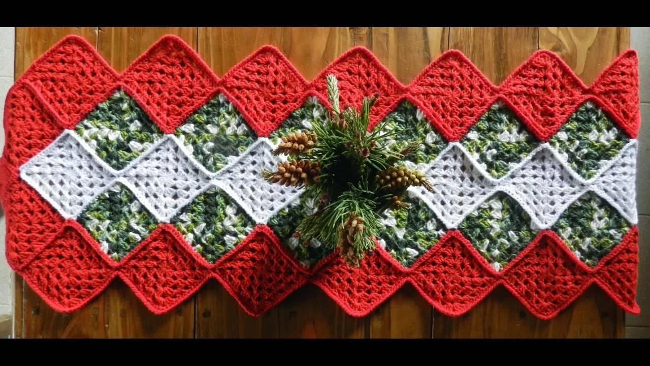 Preciosos adornos para esta navidad a crochet youtube - Adornos navidenos para mesas ...