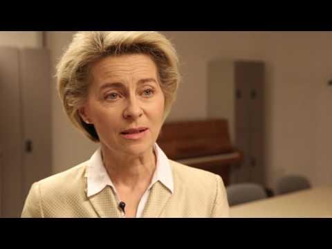 """""""Wir können noch besser werden"""" - Video-Interview mit Ursula von der Leyen"""