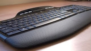 Logitech MK700 MK710 Laser Wireless keyboard mouse set Review