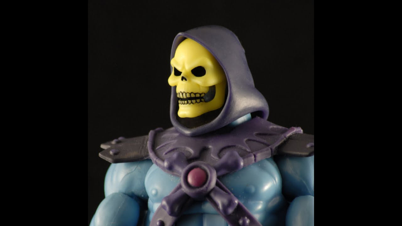 Motuc Head Custom Filmation Skeletor