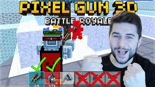 YOU MUST USE ONLY SHOTGUN WEAPONS BATTLE ROYALE CHALLENGE! | Pixel Gun 3D