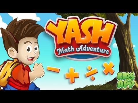 Yash Math Adventure Game (Degenet) - Best App For Kids