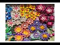 Paper Quilling Flowers/ Advance 3D Quilled Flowers/ Quilling Flower Wreath Part 1