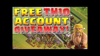 Giveaway! Coc live stream  I'd and clan giveaway
