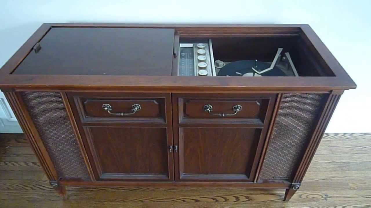 Superieur Antique Record Player Cabinet   YouTube