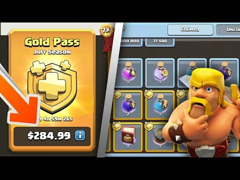 How Much Is The Gold Pass ACTUALLY Worth?   Clash Of Clans Season Challenges