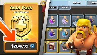 How Much Is The Gold Pass Actually Worth? | Clash Of Clans Season Challenges