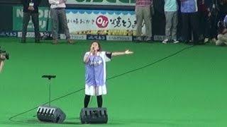 2015年7月11日、札幌ドームでの北海道日本ハムファイターズ公式戦の試合...