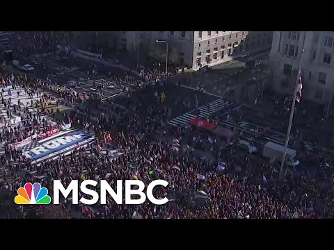Trump Supporters Protest Election Results At The National Mall, March To Supreme Court | MSNBC