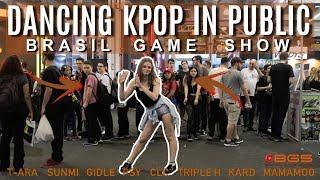 DANCING KPOP IN PUBLIC CHALLENGE (Brasil Game Show - BGS) #3 BRAZIL- Viviane Costa