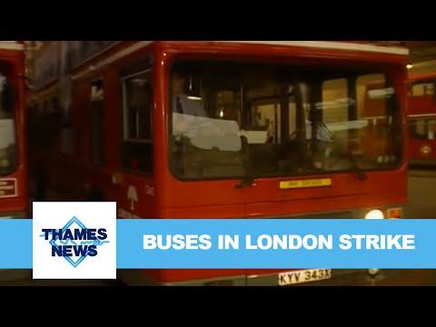 Buses in London Strike | Thames News
