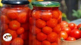 Закатка помидоров на зиму – самый простой способ!