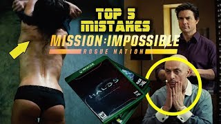 MISSION: IMPOSSIBLE - ROGUE NATION - Top 5 Movie Mistakes (2015) Tom Cruise
