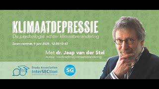 Klimaatdepressie: de psychologie achter klimaatverandering   dr. Jaap van der Stel