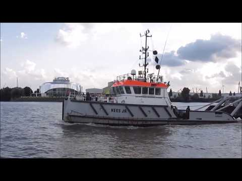 Hamburg, Germany: The Port (Harbor)