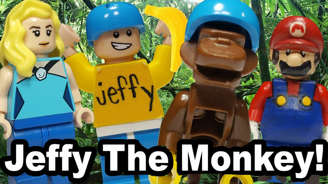 Lego SML: Jeffy The Monkey!