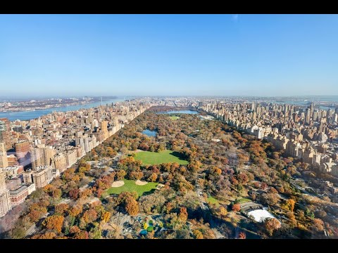 Tour a $50M NYC Penthouse Overlooking Central Park | One57