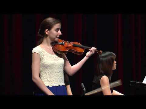 DIANA ADAMYAN  Menuhin Competition 2018 Senior first rounds - day 1
