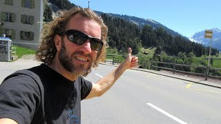 Hitchhiking the Alps: An Adventure Across Switzerland & Austria