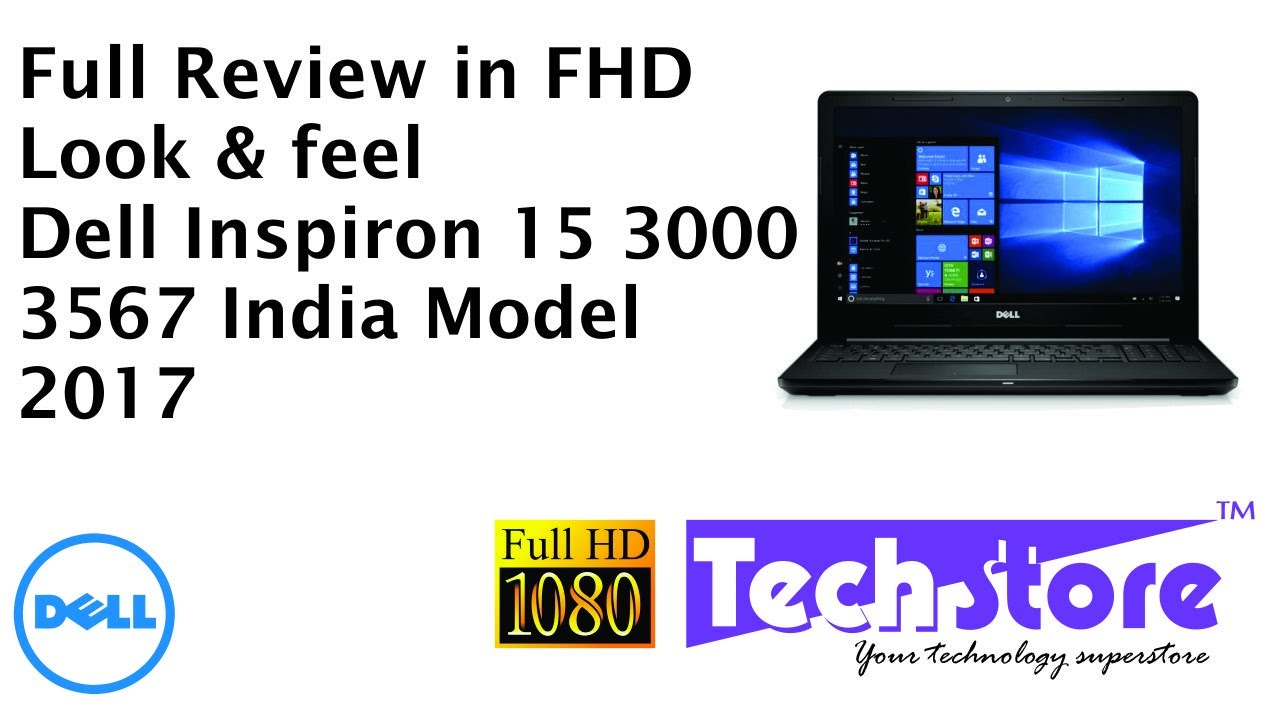 Dell Inspiron 15 3567 3000 Series : Full Review Look & Feel of black variant