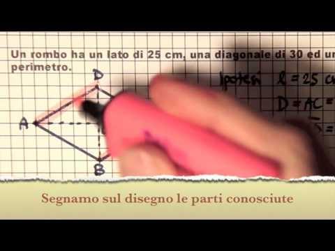 VIDEO-LEZIONE 4: Problemi geometrici di secondo grado from YouTube · Duration:  5 minutes 27 seconds