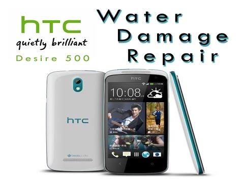 HTC Desire 500 Water Damage Repair