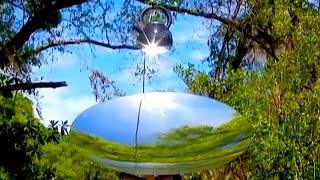 Sun Tracker Heliostat Parabolic Mirror Solar Cooking