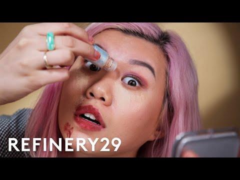 POWDER LIPSTICK AND MASCARA??? | Beauty With Mi | Refinery29