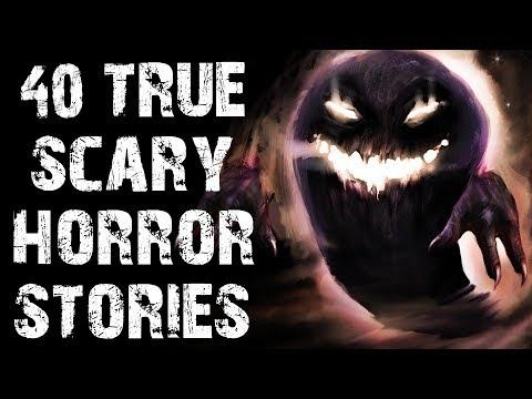 40 TRUE Disturbing & Terrifying Horror Stories | Mega Compilation | (Scary Stories)