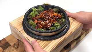 Eng) 돌솥 낙지비빔밥 만들기/ 돌솥비빔밥 돌솥밥 만…