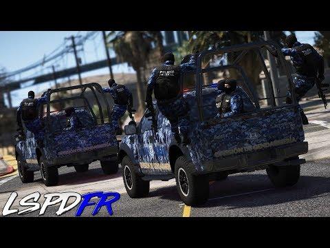 GTA V LSPDFR #179 EL MEJOR OPERATIVO - POLICIA FEDERAL GENDARMERIA | TheAxelGamer