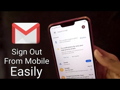 How To Sign Out From Gmail in Android Mobile 2020 || Logout Gmail Account Android 2020