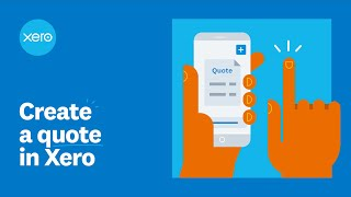 Create a quote in Xero | Xero Firsts