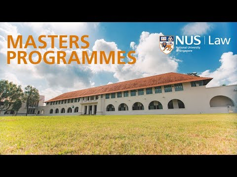 NUS Law Masters Programmes